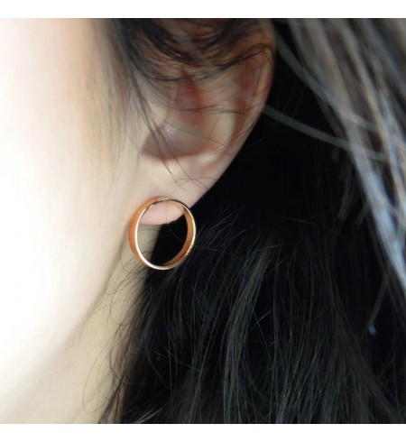Boucles d'oreilles anneaux